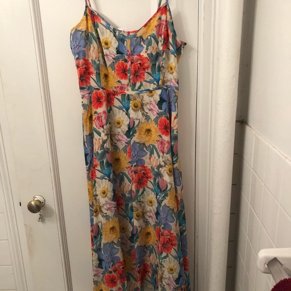 J. Crew Dresses & Skirts - J.Crew Liberty Print Silk Midi Dress NWT 8